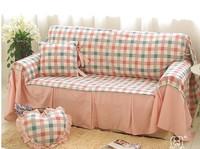 Mengkou 2014 new Korea home textile xialuote Manor Countryside Cotton Sofa cover Pastoral Brief Sofa towel