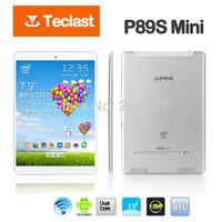 Free Shipping Teclast P89S mini Pad Intel Z2580 2.0Mhz 7.9'' IPS Screen 1GB RAM 16GB ROM Android 4.2 Bluetooth GPS Dual Camera