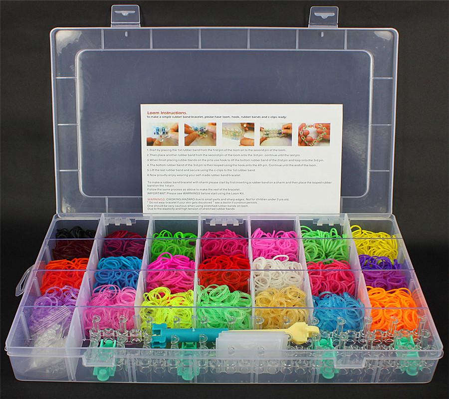 Наборы для плетения браслетов своими руками