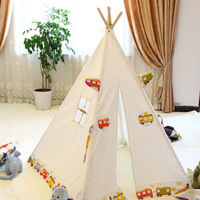playhouse for child tent 100% cotton teepee tent