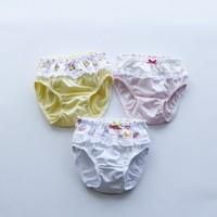 Baby Cotton Underwear Child Panties Bread Under  Underwears Pants Girls Triangle Kids Children Briefs, Mixcolor,20pcs/lot
