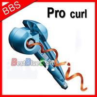 Free Shipping Brand Pro Nano Titanium Automatic Hair Curling Iron Magic Hair Curler Styler Bivolt with Brushless Motor