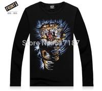 3d sweatshirt men Fashion Rock New 2014 Hip hop sweatshirt Spring/autumn/winter Plus thick velvet warm sportswear Sport hiphop