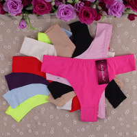 Free Shipping 2014 New Material & Design Women Hot Sexy Ice Silk G-string Girls Sexy Underwear