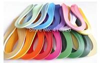 Wholesale 1000Pcs/10Bag/Lot 120G 42CM  DIY Scrapbooking Quilling Paper Rolling  Quilling Kit  17Colors