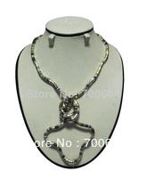 popular flexible snake necklace