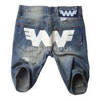 2014 New Summer Fashion Men's Short Jeans Trousers 100% Cotton fashion design men brand Free Shipping big discount