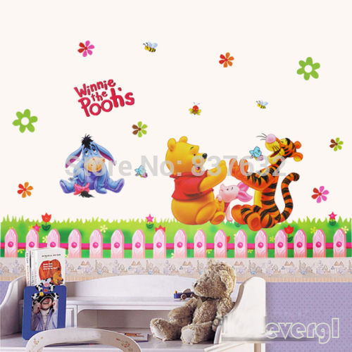 Details about Winnie The Pooh Wall Sticker Nursery Baby Room Decor Removable Vinyl decals HOT(China (Mainland))