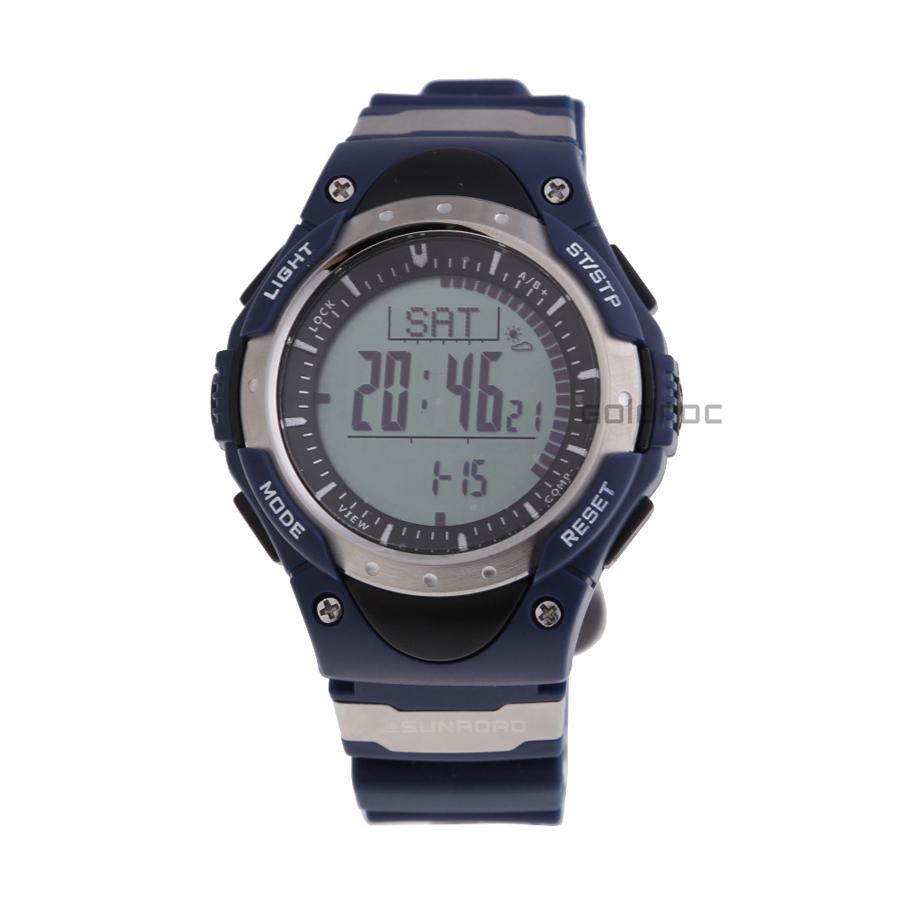 2014 sunroad neueste höhenmesser barometer thermometer kompass Uhrzeit und Datum el-hintergrundbeleuchtung handgelenk sportuhr fr826a versandkostenfrei