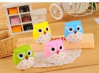 C100 Korea stationery originality Cute  Cartoon owl  pencil   sharpener  Size 4.5*4cm