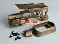 ALG Defence Glock 17/18C Aluminum Optic Mount w/ AFM Flared Magwell (DE)