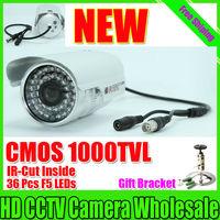 "Free shipping 2014 NEW 1/3"" SONY CMOS 1000TVL Waterproof Outdoor security camera IR 30 meter CCTV Camera Security Camera"