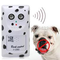 Humane Ultrasonic Anti No Bark Control Trainer Stop Dog Barking Silencer Hanger