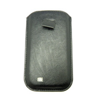 Full body PU leather skin case bag slider skin with view window for samsung galaxy s4 i9500 B251