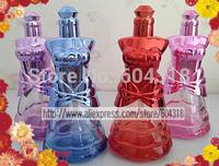 free shipping 8pcs/pack shiny fragrance diffuser female body shape bottle perfume sub bottle incense holder spray bottle empty