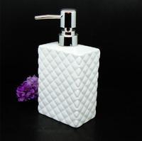 Five Colors Square Ceramic Manual Soap Botte, Free shipping