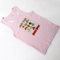 bird printing shirt children unisex vest clothing waistcoat shirt for children free shipping