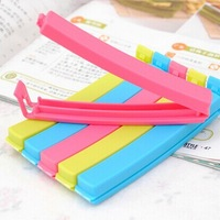 Easy fashion Home Kitchen 8pcs Colorful Food Plastic Bag Seal Sealing Clip Clamp Sealer