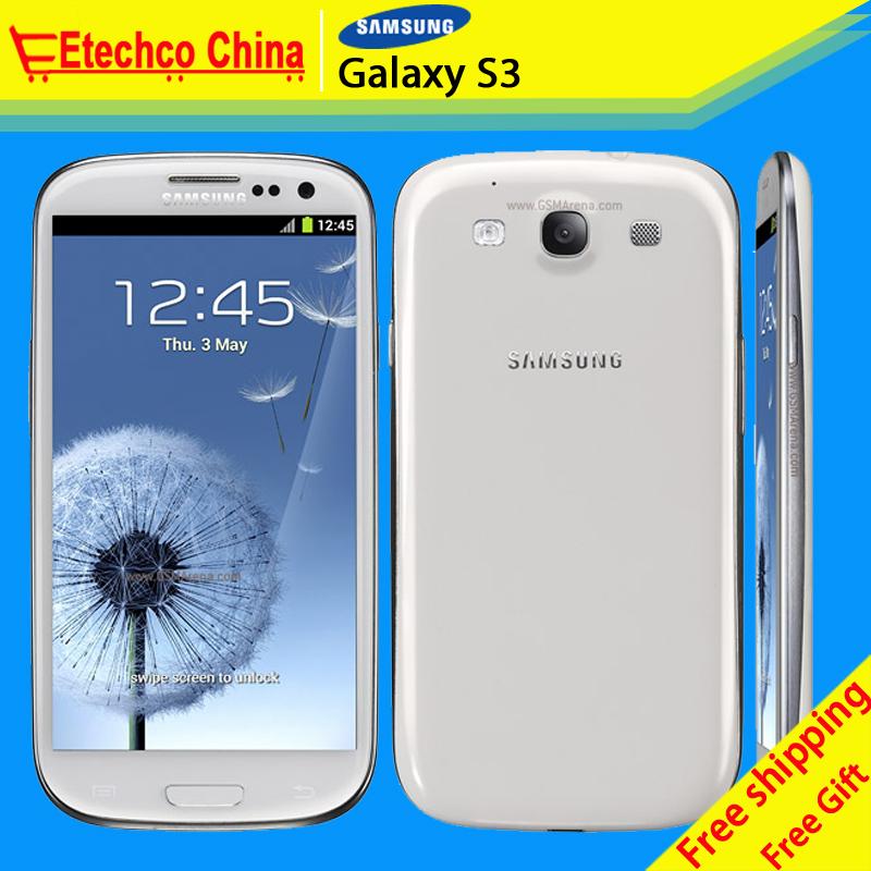 Freeshipping Original Samsung galaxy s3 I9300 Refurbished Mobile Phone i9300 Galaxy S3 unlocked phone Quad Core 4.8'' Screen 8MP(China (Mainland))