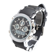 led analog watch promotion