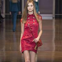 New Arrival 2014 Brand Designer Fashion Women Fringe Shoulder Jacquard Royal Army Stylish Party Dresses KC523 Plus Size XXL
