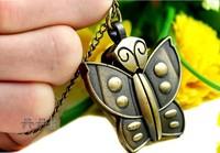 Creative personality necklace quartz watch fashion watch necklace pocket watch necklace butterfly