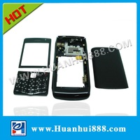 Original Full set Cell phone housing cover Black color 9100 for Blackberry