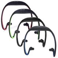 Wireless Earphones Headphones Sports MP3 Music Player For Gym Running Jogging