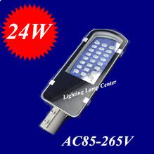 24 W LED rue lumière 2 anos garantie haute puissance 24 W haute Lumens LED rue lumière éclairage extérieur lampes livraison gratuite(China (Mainland))