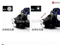 Free shipping 1PC 1600Lm Cree XM-L T6 Bike Light Headlight Headlamp Torch Flashlight +Car Charger