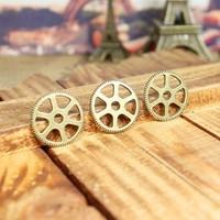 43a  cog wheel shape design  diy necklace bracelet component 40pcs/lot  20MM pendants alloy  lucky Charms  Jewelry Findings