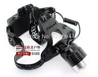 1800Lm CREE XML T6 Waterproof LED Headlamp Headlight Rechargeable Headlamp Free shipping