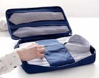 New  man woman travel  shirt and tie storage bag