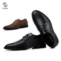 2014 Brand Classic men's Oxfords Sneakers best quality Comfortable Dress Business shoes flats men mesh Summer shoes