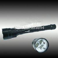 Free shipping TrustFire 3800Lumens 3x CREE XML XM-L T6 3t6 LED Flashlight 18650 Torch