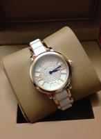 Chic watches women luxury brand Crystal Stainless Steel Quartz Wrist Watch Business New women watches fashion