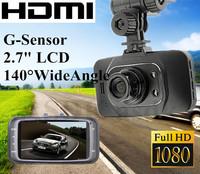 NEW! 1920*1080P FULLHD Car cam DVR, GS8000 Novatek 96220 Car record, black box, 2.7 lcd+Night Vision+G-Sensor+Motion Detection