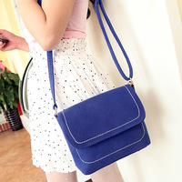 2014 new fashion pu leather  MINI candy color bag women messenger bags 9.9 $  free shipping
