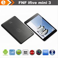 Free shipping ! Original FNF iFive Mini 3 Mini3 3G MTK8389 Quad Core Tablet PC 7.85 inch IPS Screen Android 4.2 Bluetooth 16GB