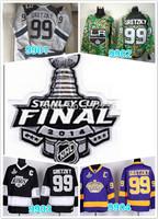 2014 Cheap LA Kings Hockey Jerseys Wayne Gretzky #99 Jersey LA Kings Stitched 2014 Stadium Series Jerseys Cup patch
