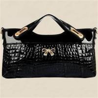 2015 new female clutch popular bolsas fashion design women handbag hot shoulder bags crocodile pattern women messenger bags