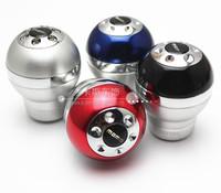 Free shipping 2014 new hot deals MOMO modified file head / car gear stick head / aluminum gear shift knob