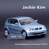 Free shipping ZhiGuan 1:36 120i Pull Back alloy Car Model Toy