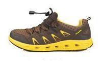 2014 new slip resistant breathable hiking shoes men 3558
