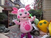 High quality of the Luntik Mascot Costume cartoon costumes advertising mascot animal costume school mascot fancy dress costumes