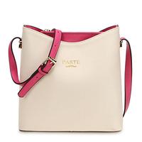 New 2014 Brand Designer Genuine Leather candy color women bags Cowhide bucket bag Elegant women messenger bags