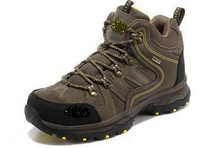 2014 new breathable slip resistant high-top hiking shoes men 719