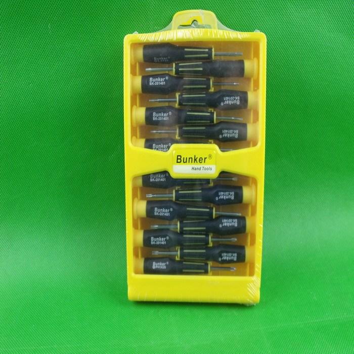 Bunker tool 15 precision miniature screwdriver set screwdriver screwdriver BK-201401 Watches(China (Mainland))