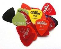 Lots of 200pcs New guitar picks Smooth Picks 0.58mm/0.71mm/0.81mm/0.96mm/1.2mm/1.5mm optional