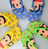 Brand New 2014 MonkeySandals Cute Cartoon Flat Flip Flops Women Casual Slippers for Woman Monkey Slides Hot Summer Beach Shoes